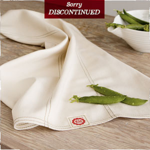 Soft and absorbant dishtowels made from organic cotton