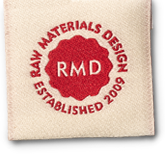 Raw Materials Design Logo